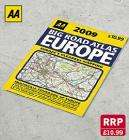 Big Road Atlas Europe 2009  @ Lidl for £2.99 (RRP 10.99)