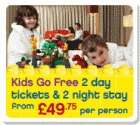 2 day ticket & 2 night stay @ LEGOLAND from £49.75 pp