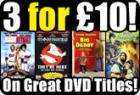 Selected DVDs - 3 For £10 @ Play.com