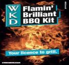 WKD Blue Bottles 12 pack for just £8.50 Flamin Brilliant BBQ Kit @ Tesco
