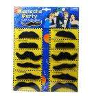Stylish Costume Fake Moustache (Assorted 12-Pack) £1.55 delivered @ Deal Extreme