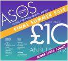 ASOS Final Summer Sale: Many items under £10