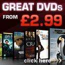 Great DVDs from £1.99 delivered at HMV