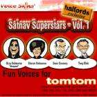 Let Tony Blair navigate your journey for you : Fun voices for TomTom - £12.98 delivered