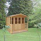 Torquay Summerhouse £399 or £339 after 15 % discount until Monday 31/8 - free del. @ B&Q