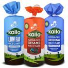 "KALLO ""Free From"" ORGANIC RICE CAKES - 2 FOR £1.50 @ Asda"