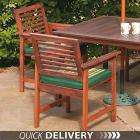 TWO Hardwood Garden Chairs Now £43.20 delivered (was £164.50) - Debenhams - (4% Quidco available)