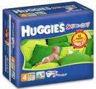 Huggies Super-Dry Nappies £8 for economy backs from 7.8p/nappy @ Asda