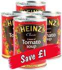 Heinz Tomato Soup 4x400g £1.60 @ Lidl