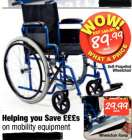 Self-Propelled Wheelchair £89.99 @ Netto
