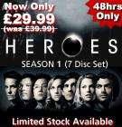 Heroes Complete Series 1 Boxset for £29.99 at BangCd - 48 Hours Only