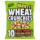 Wheat Cruchies 20 Bags for £1.80 @ Netto