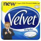 Triple Velvet Toilet Roll 9 Pack - £2.59 @ Centra