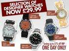 Selection of Designer Watches, £29.99 delivered @ Cdiscount or 2 for £40.99 for new accounts