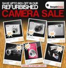 Save up to 60% off Refurbished Cameras @ Bargain Crazy