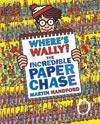 Where's Wally? The Incredible Paper Chase (hardback) £4.,99 delivered @ Red House Books