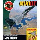Airfix A50027 1:144 Scale McDonnell Douglas F-15 Eagle Mini Pre-painted Model Kit Gift Set with Glue £3.60 + Free Delivery @ Amazon