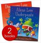 Dinosaurs & Aliens Love Underpants £4.99 @ TheBookPeople