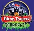 Alton Towers SCAREFEST! - £17 Adults £12 Under 12's OR £50 for Family of 4