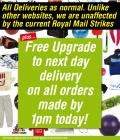 Free UpGrade to Next Day Delivery on Purchases from Sports Direct Before 1pm Today