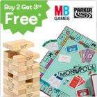 Toys r us 3 for 2 on any MB / Parker Games
