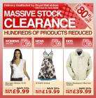 Bargain Crazy Massive Stock Clearance : up to 80% off