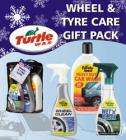Turtle Wax Wheel & Tyre Care Gift Pack was £24 .99 (+ P&P £4.99 see below) now £4.99 at Home Bargains
