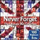Va  Never Forget: Ultimate 90s Collection: 5cd - £4.99 Delivered @ HMV
