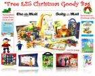 Kids free xmas goody bag - Just pay postage £4.45 @ Shop4online with The Daily Mail Promotion