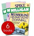 Spike Milligan Collection - 6 Book Collection £7.99 (£7.59 with 5% voucher) + Free Delivery @ The Book People