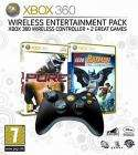 Xbox 360 Wireless Entertainment Pack (Black Wireless Controller, Lego Batman and Pure) @ John Lewis - £29.95
