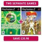 PS2 games ultimate sports quiz and king of clubs £4 @ minstry of deals