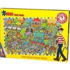 Where's Wally: 1000 Piece Wild Wild West Jigsaw £6.99 delivered @ Play + Quidco