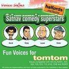 TOMTOM Comedy Star Voices -Borat, Lucas, Clary, Victor £2.99 @ Halfords