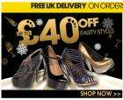 Up to £40 Off Gorgeous Party Shoes @ The Office Plus Free delivery on a £80 spend