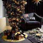 Black Christmas Tree - Stands either way up £40 @ John Lewis.  Merry Goth Christmas Anyone?
