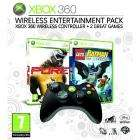 Xbox 360 Wireless Entertainment Pack (includes Xbox 360 Wireless Controller Black and Two Xbox 360 Games - Pure and Lego Batman) INSTORE @ Game £19.99