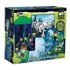 Ben 10 Alien Force Triple 100 Piece Puzzle Pack - £4.49 delivered @ Amazon