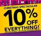 3 Day - 10% Off Everything at Superdrug !