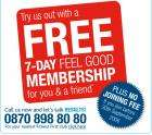 Free 7-day Membership from Fitness First