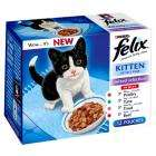 24 x Felix Pouches (Inc. Kitten and Senior) for £5 at Pets at Home