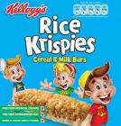 Kellogg's Rice Krispies cereal bar (6x20g) was £1.69 Now 2 FOR £2 @ Asda