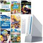 Wii Console (White or Black) + Sports + Sports Resort  inc MotionPlus + Boogie Superstar inc Mic + SimAnimals + Fun Park Party + Geometry Wars + TV Show King Party - £199.99 @ Toys R Us