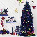"6'6"" Pre-Lit Christmas Tree (Navy Blue!) - £37.50 Delivered @ JohnLewis"