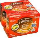 4 4Packs (16 Cans) of Heinz Tomato/Vegetable/Chicken Soup £4 @Tesco