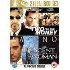 Scent of a Woman and Two for the Money [2 DVD] set £1.99 delivered@ CD-WOW
