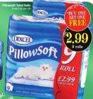 Pillowsoft toilet roll, 18 rolls for only £2.99 @ Netto from Mon