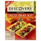 Discovery Taco Tray Kit 270g only 99p Home Bargains