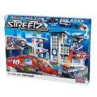 Mega Bloks Streetz Chopper Pursuit - includes LED remote control and Stunt action vehicles & Motorized pursuit chopper with working search light,speed booster and stunt ramps - Half Price - £17.41 @ Amazon