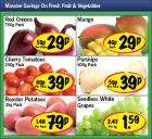 Lidl Offers-Mangoes 29p, Cherry Tomatoes 39p 250g, Green Seedless Grapes £1.59 kg, 36 Weetabix £2 & 8 Fruit Shoots £1.75